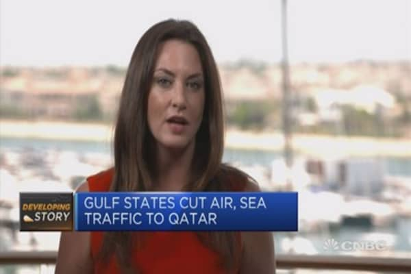 Qatar story has been percolating for some time