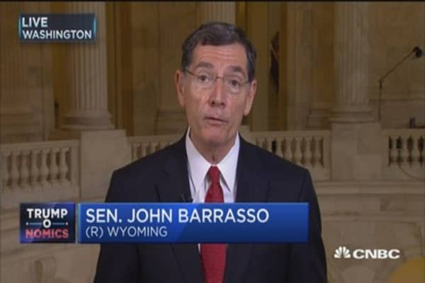 Sen. Barrasso: We are writing our own health care bill