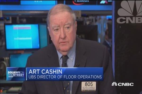 Cashin eyes Thursday market surprises