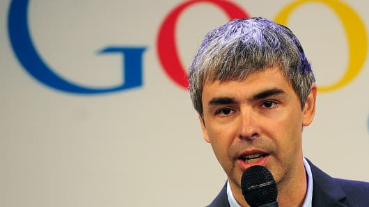 Alphabet CEO, Larry Page.