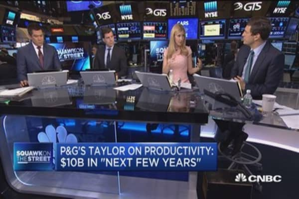 P&G CEO David Taylor: We listen to ideas from shareholders