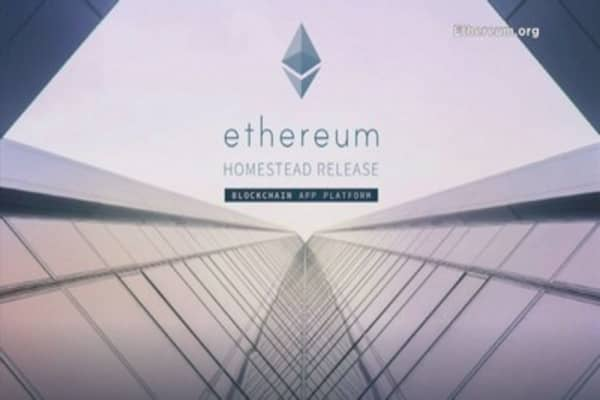 Ethereum hits another record high, marking a more than 2,800% rally this year