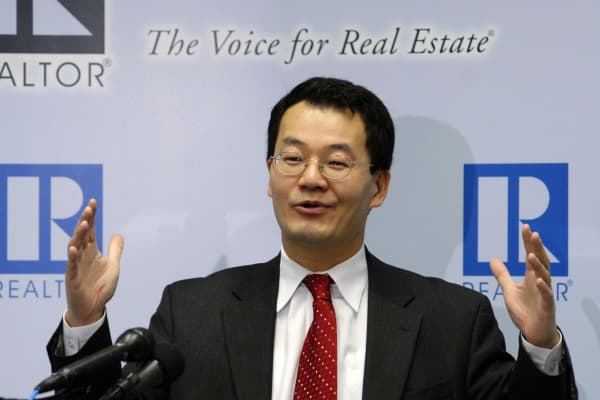 Lawrence Yun, chief economist at the National Association of Realtors.