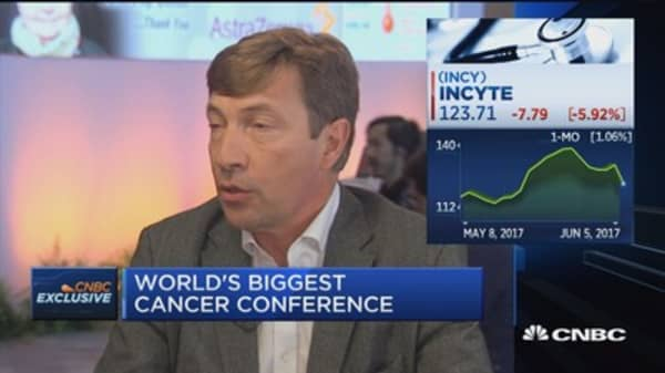 Incyte CEO on the future of cancer treatment