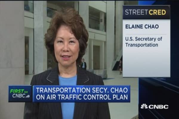 Secretary Chao: We are addressing technological advances in air traffic plan