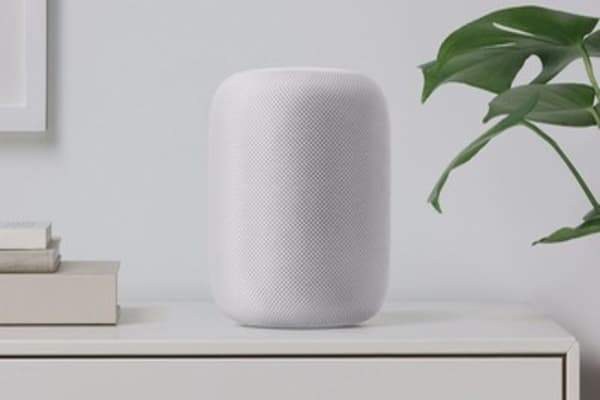 Apple unveils the HomePod, a $349 competitor to Amazon's Echo