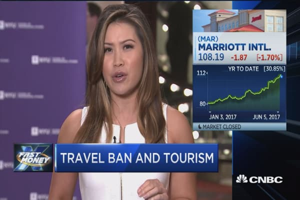 Could Trump's travel ban tweets hit travel stocks?