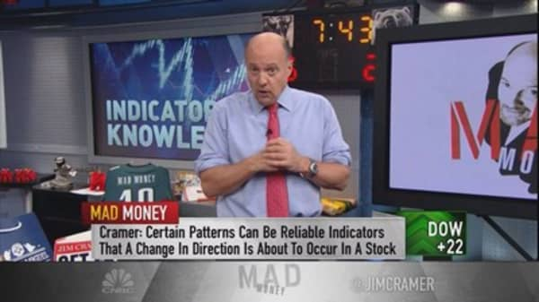 Cramer: Unusual signs that mean a stock's ready to explode