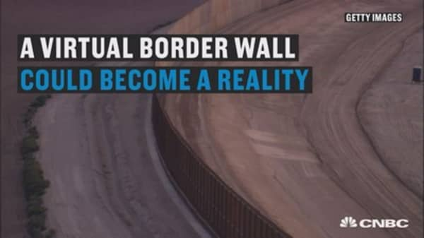 A virtual border wall could become reality