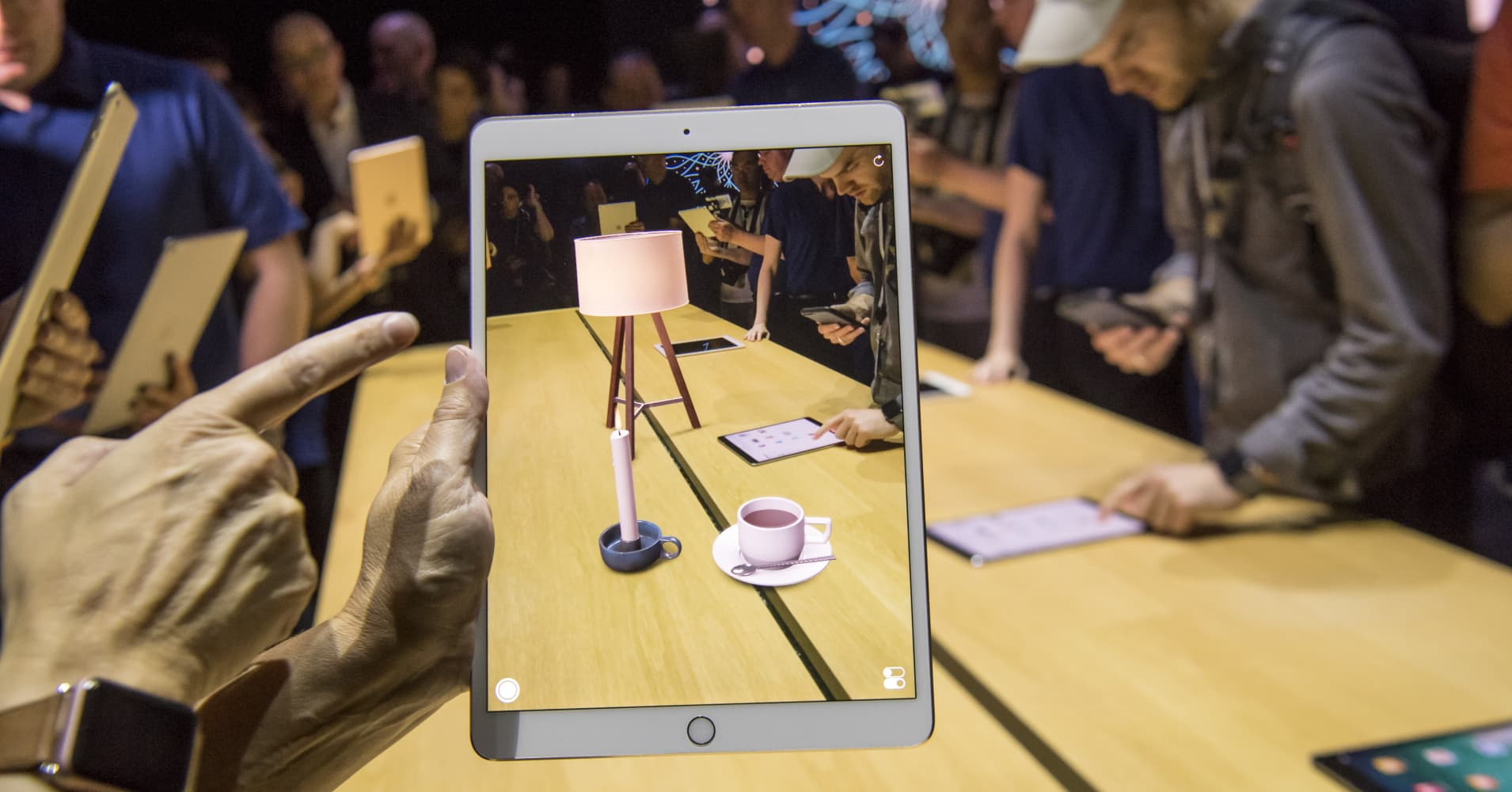 Apple will probably bring AR to the mainstream before Google