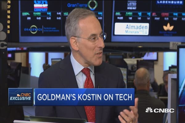 We have a goldilocks style economy, not too hot, not too cold: Kostin