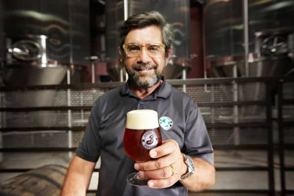 Steve Hindy, Chairman and President of the Brooklyn Brewery.
