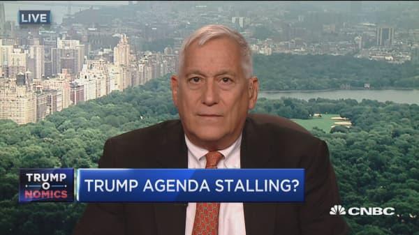 Trump agenda stalling?