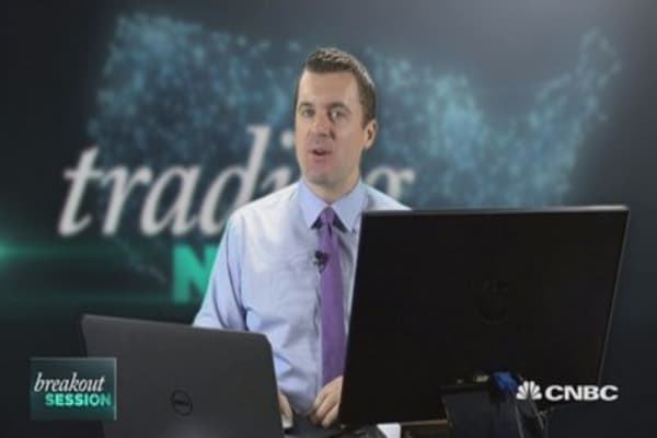 Trader: Small caps are pointing to trouble for the market