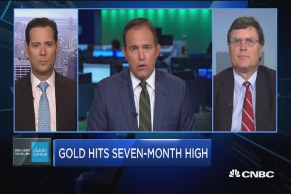 Trading Nation: Gold hits seven-month high