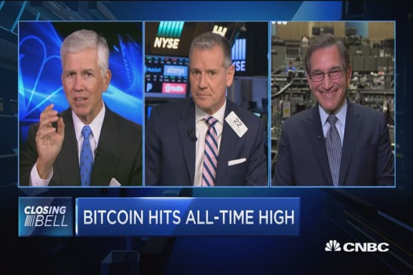 Closing Bell Exchange: Bitcoin hits all-time high