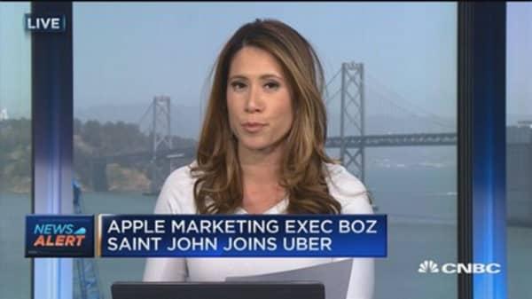 Apple marketing executive joins Uber