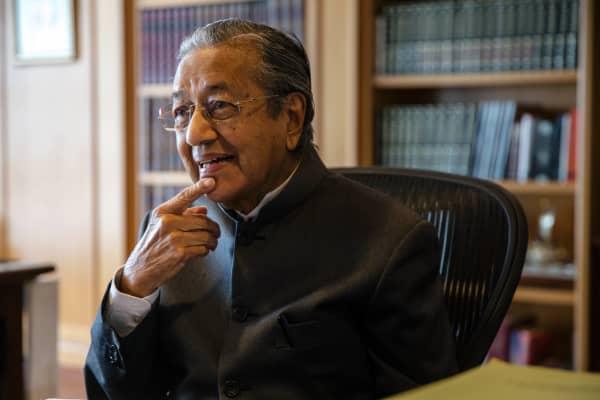 Malaysia's Mahathir Mohamad