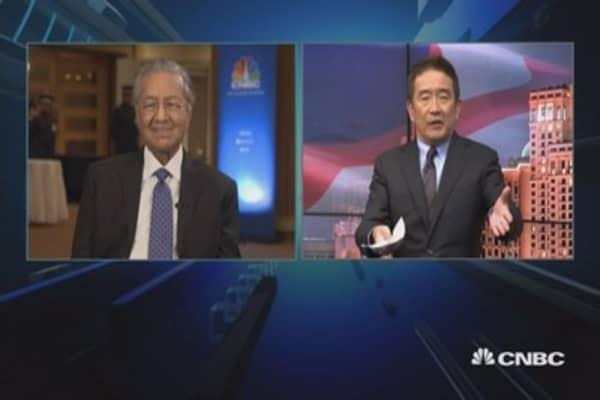 Najib needs to be removed: Mahathir