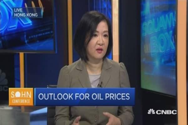Oil equities aren't doing so well, but...