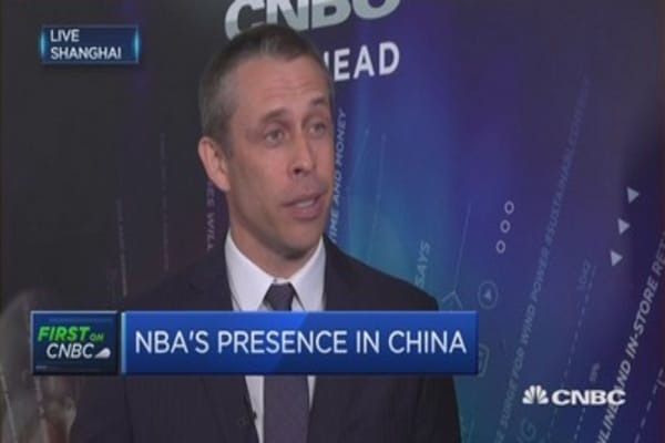 NBA, Tencent and China