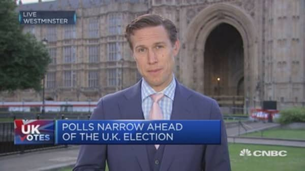 Last day of campaigning begins before UK election