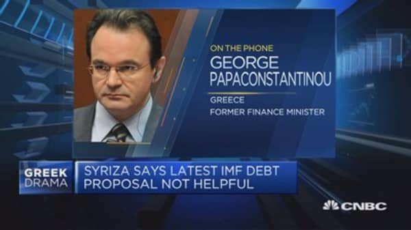 Greece is still not out of the woods, says ex-fin min