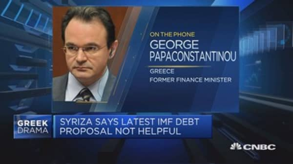 Ex-Greek fin min: Could be victim to Germany, IMF compromise