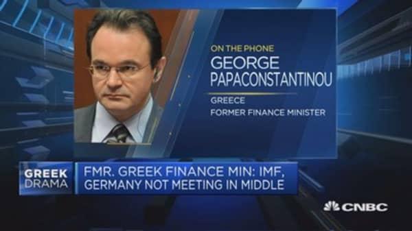 Syriza says latest IMF debt proposal not helpful