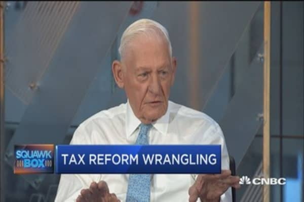 Tax reform unlikely to be revenue neutral: Larry Bossidy
