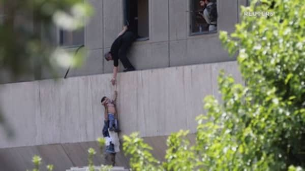Attackers bomb Iran parliament and mausoleum, at least 12 dead: Iranian media