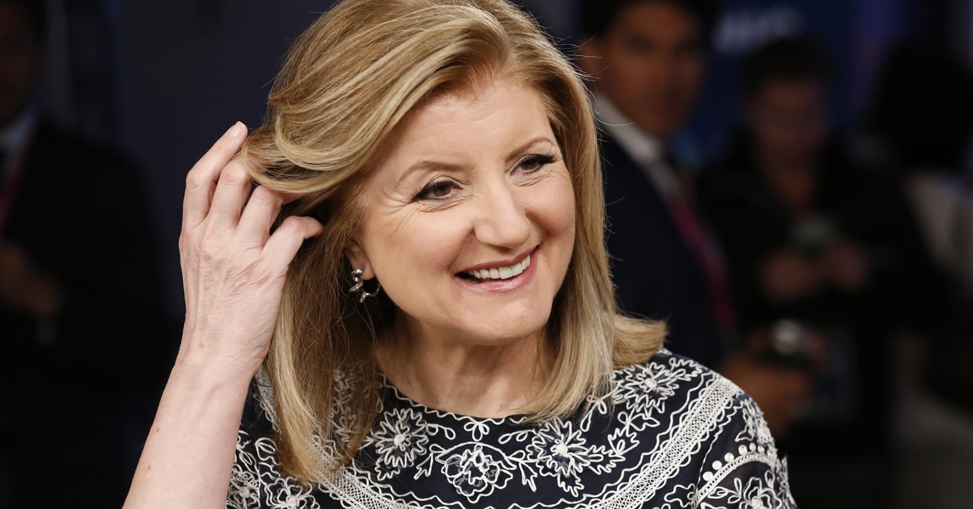 Arianna Huffington recently spoke with CNBC about the importance of self-care.