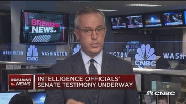 Senators grill intelligence officials on Russia probe