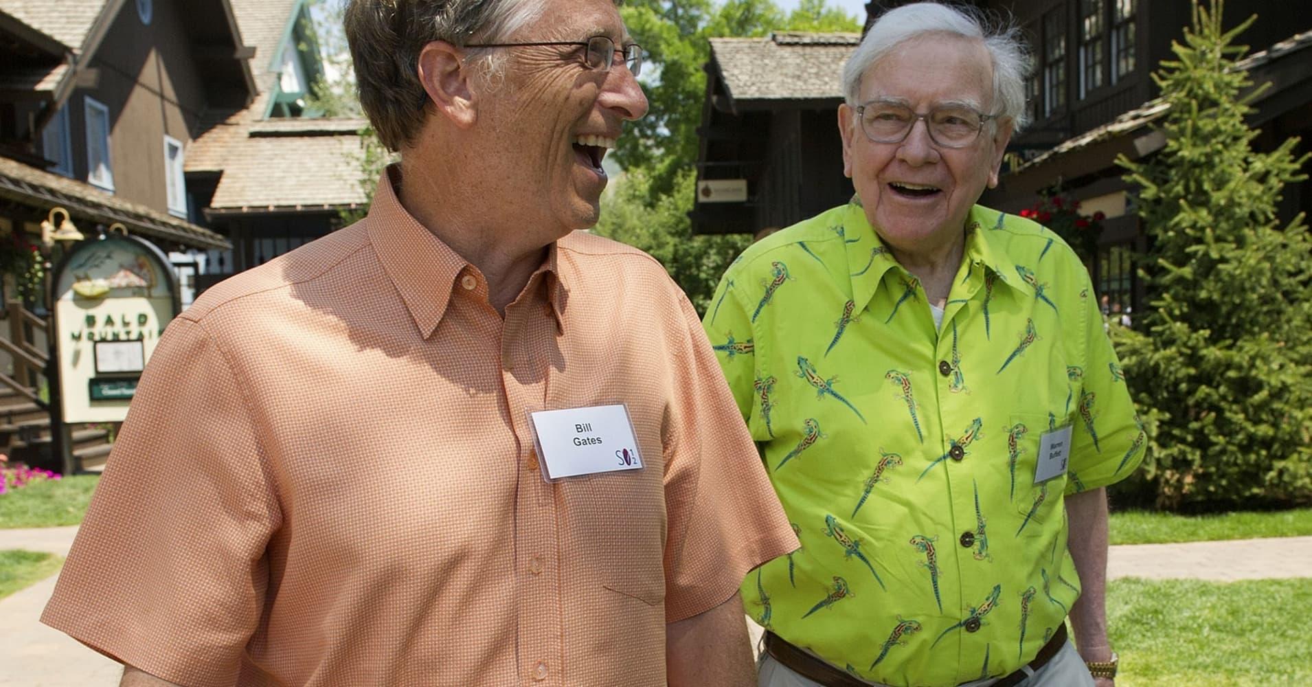 How Bill Gates And Warren Buffett Met