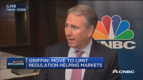 Too much complacency on inflation: Griffin