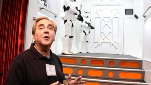 Steve Sansweet warns guests to avoid the Empires Stormtroopers Racho Obi-Wan.
