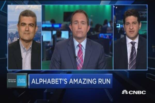 Trading Nation: Alphabet's amazing run