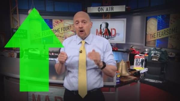 Cramer Remix: What the dreaded rise in stocks, gold & Bitcoin means for your money
