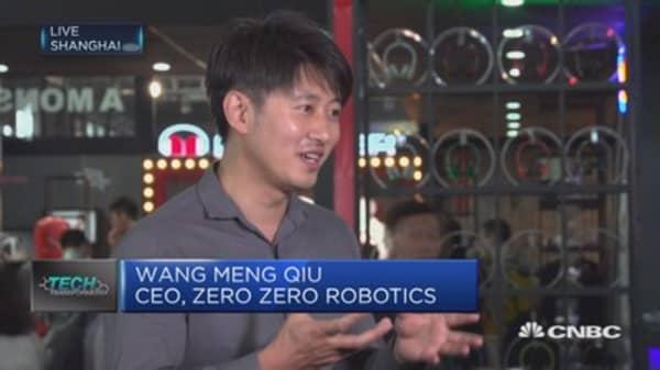 Zero Zero Robotics develops self-flying cameras