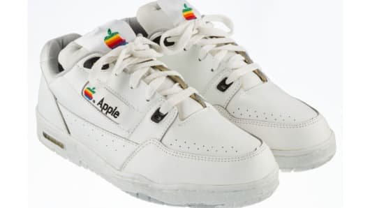 Apple Computer Sneakers, circa early 1990s