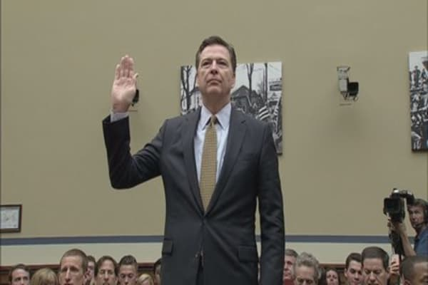 'Must-See TV': Free Drinks and Canceled Meetings for Comey's Testimony