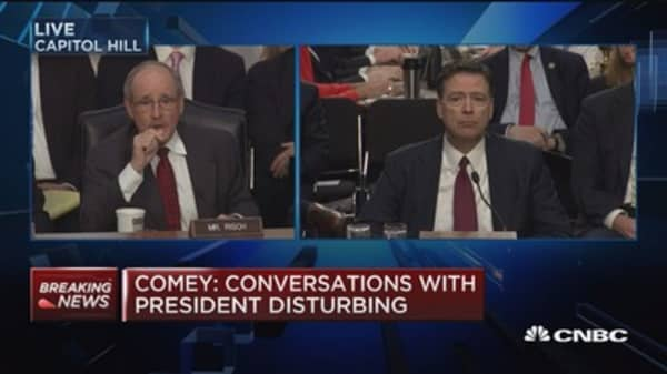 Comey: I took it as an direction when Trump told me to drop Flynn investigation