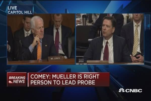 Comey: I knew there was no case in the Clinton emails