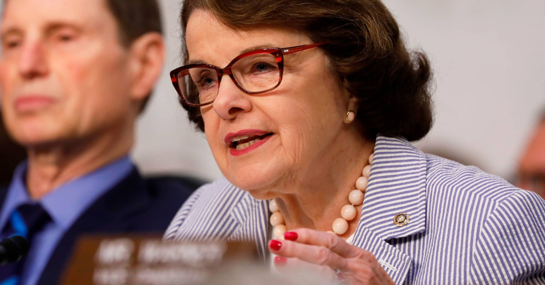 CA's Dianne Feinstein: Senate's Russia probe is building a case against Trump for obstructing justice