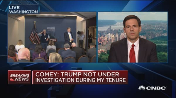 Trump firing Comey for Russia investigation is definition of obstruction: Former Attorney General