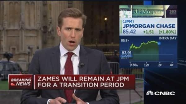 JPMorgan COO Matt Zames is leaving