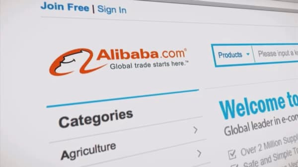 Alibaba shares surge after CFO's forecast literally causes investors to gasp