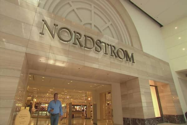Nordstrom shares spike after company announces exploration of going private