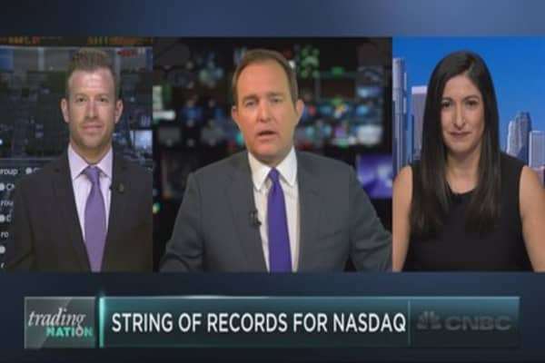 Nasdaq 100 sees string of record highs