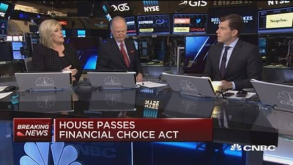 House passes Financial CHOICE Act